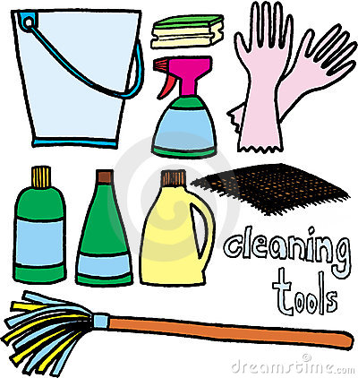 Cleaning Tools Stock Photography - Image: 5971802