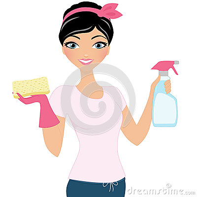 Free Cleaning Woman Royalty Free Stock Photo - 50670235