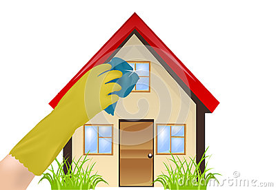 Cleanliness in the home