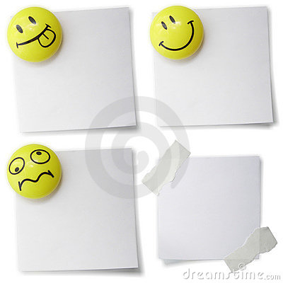 Clear blank with smiles