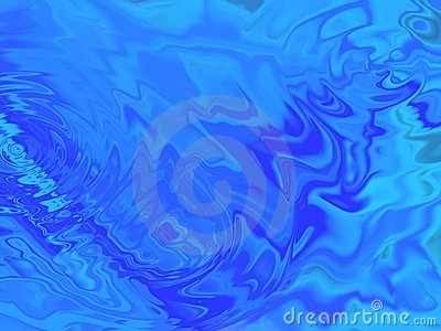 Clear Bue Water Background