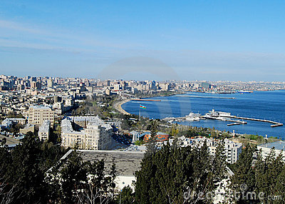 Clear Day Over Baku