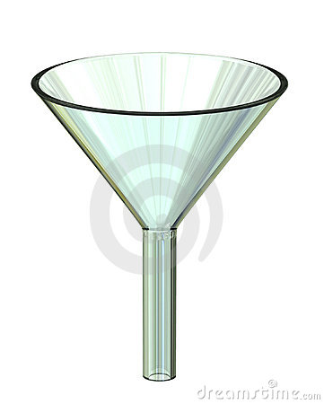 Clear Filter Funnel Stock Images Image 4588714