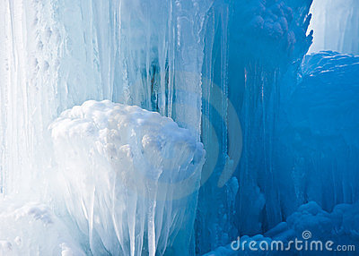 Clear Icicle Formation
