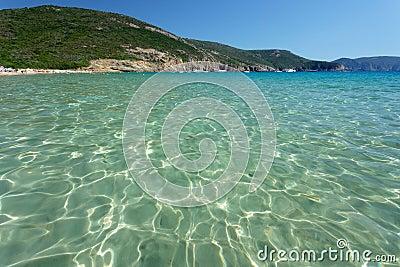 Clear mediterranean water