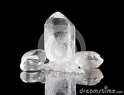 Clear Quartz Rock crystals