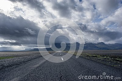 Clear Road Under White And Blue Sky Free Public Domain Cc0 Image