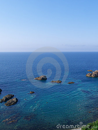 Clear sea