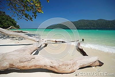 Clear sea at Adung island