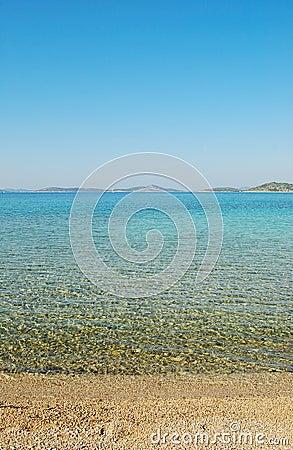 Clear sea panorama