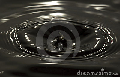 CLEAR WATER DROP AND SPLASH