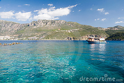 Clear waters of the Mediterranean