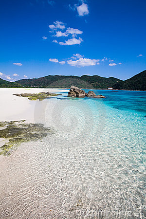 Clear waters of southern Japan