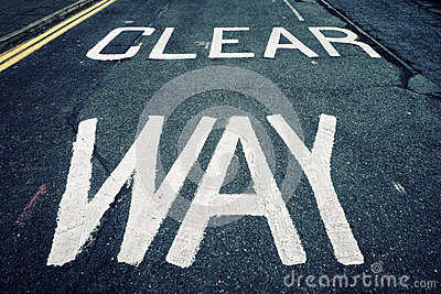 Clear way