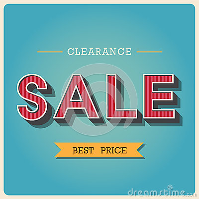 Clearance sale Retro type font