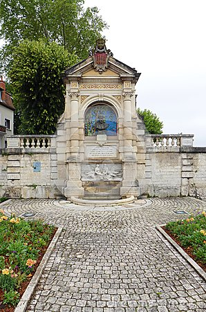 Clement Marot monument, Cahors, France