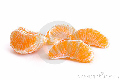 Clementine Tangerine Sections