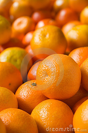 Clementines closeup