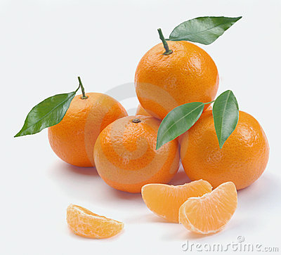Free Clementines With Segments Stock Photo - 12274510