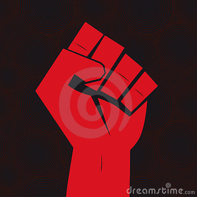 Free Clenched Fist Hand Stock Images - 19407154