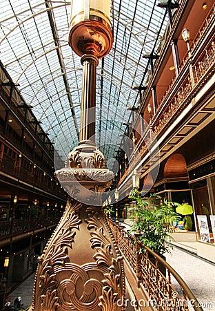 Free Cleveland Arcade In Cleveland, Ohio Stock Image - 52089481