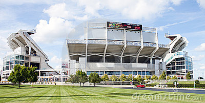 Cleveland Browns stadium Editorial Stock Image