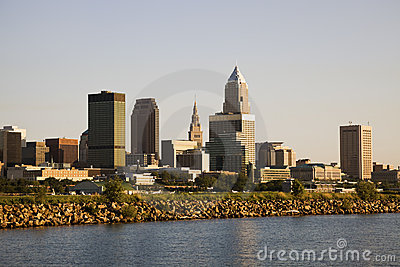 Cleveland from the lake