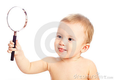 Clever Little Boy At The Desk Royalty Free Stock Photos - Image ...