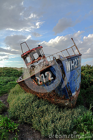 Cley Wreck #1