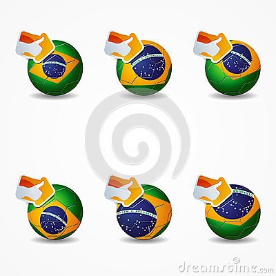 Click like Icon Ball brazil you re like the team