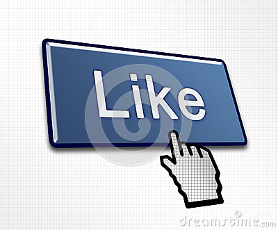 Clicked Like Button