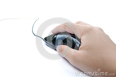 Clicking a Mouse