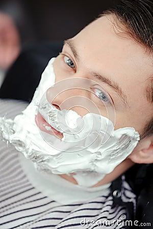 Old Fashioned Shaving Foam