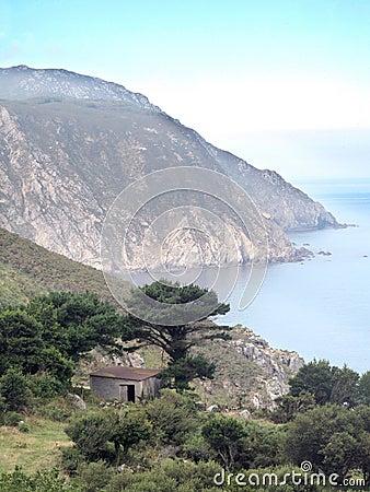 A cliff in Galicia
