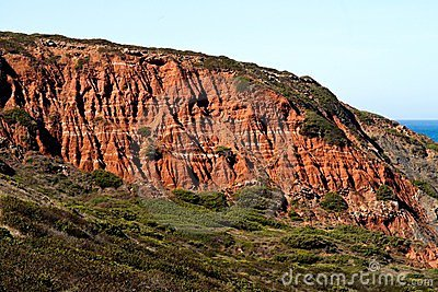 Cliff geologic formation