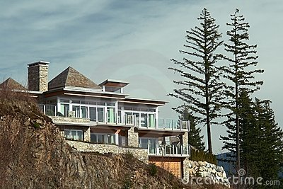 Cliff House Home Exterior New