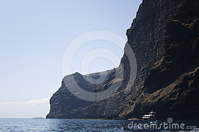 Cliff of Los Gigantes, Tenerife, Canary Islands