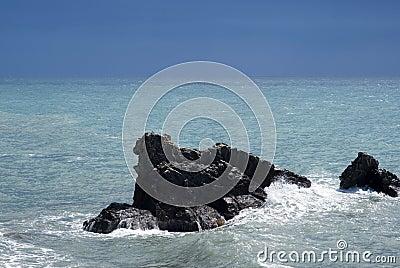 Cliff on Mediterranean coast