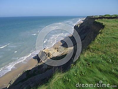 Cliff oceanu przeoczyć