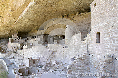Cliff Palace Dwelling at Mesa Verde National Park