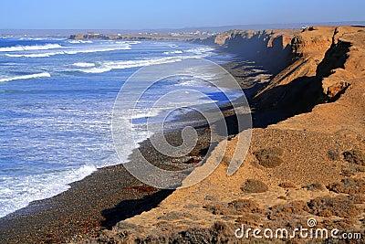 Coastline of Baja California