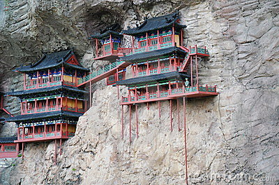 Cliff side temples