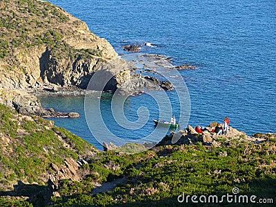 Cliff in Vermilion Coast
