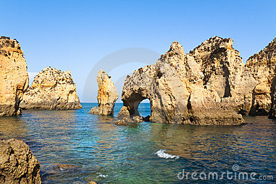 Cliffs of Algarve