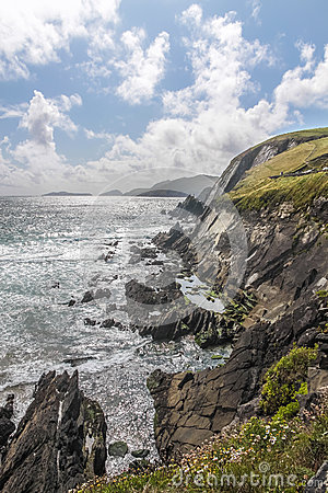 Free Cliffs At Slea Head Royalty Free Stock Photos - 36205698