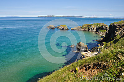 Cliffs at Carrick A Rede, Northern Ireland