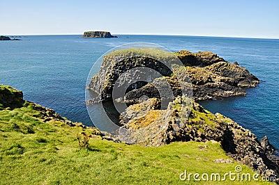 Cliffs of Carrick A Rede, Northern Ireland