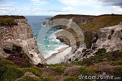 Cliffs and Coast at Cap Frehel