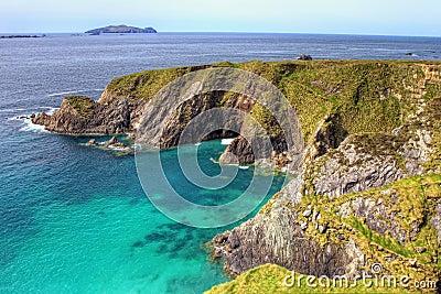 Cliffs of Dingle in Ireland.
