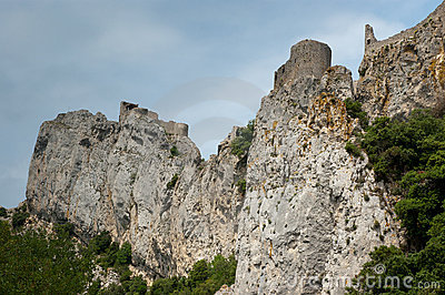 Cliffs in the Franch Pyrenees